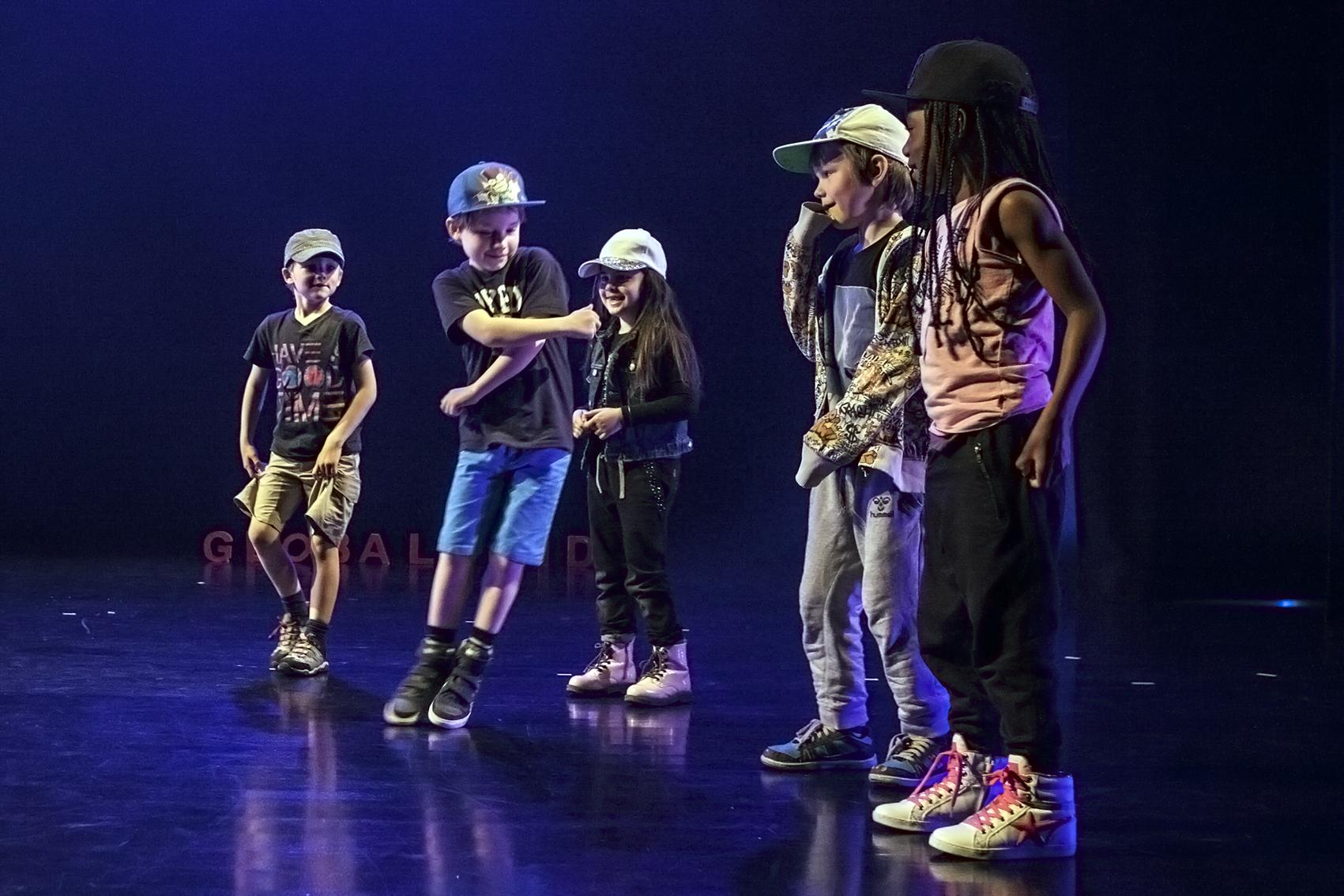 hiphop små drenge